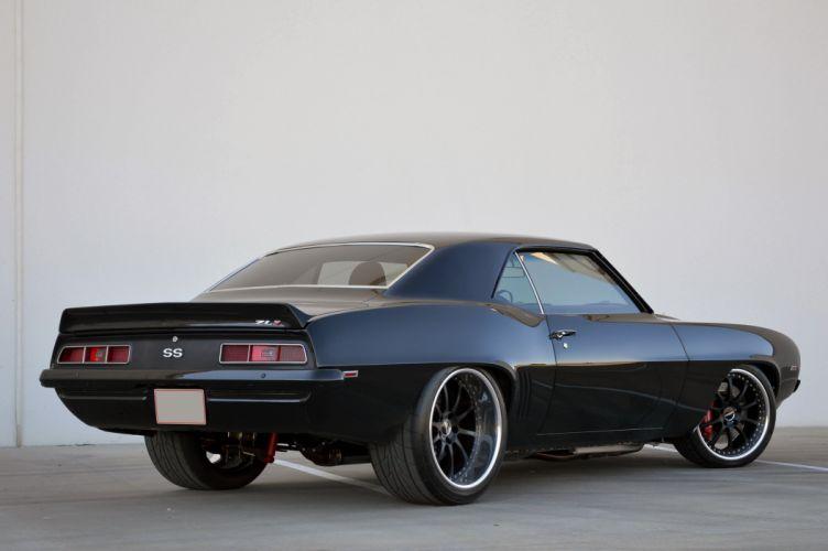 1969 Chevrolet Camaro SS LZ1 Streetrod Street Rod Hot Muscle USA 4200x2790-02 wallpaper