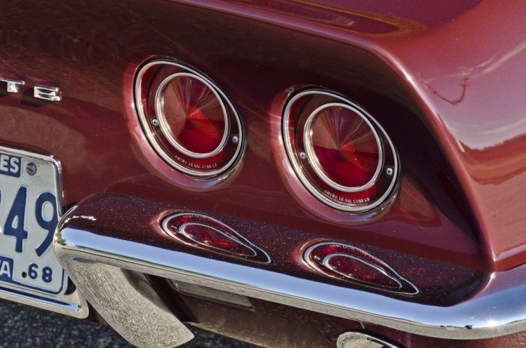 1968 Chevrolet Corvette Sting Ray 427 Muscle Classic USA 4200x2790-07 wallpaper