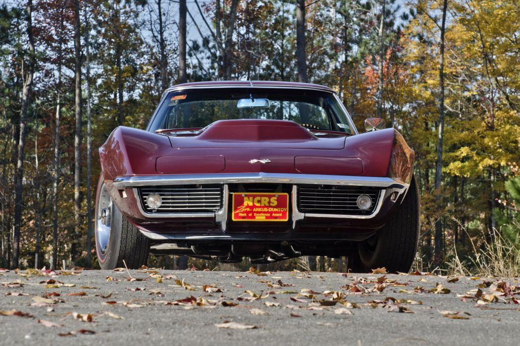 1968 Chevrolet Corvette Sting Ray 427 Muscle Classic USA 4200x2800-02 wallpaper