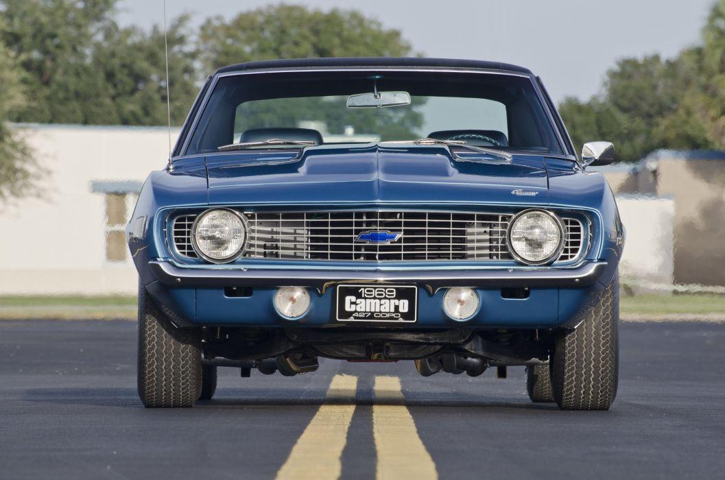 1969 Chevrolet Camaro COPO 427 Muscle Classic USA 4200x2790-01 wallpaper
