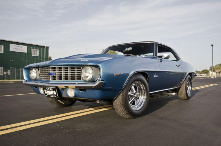 1969 Chevrolet Camaro COPO 427 Muscle Classic USA 4200x2790-02 wallpaper