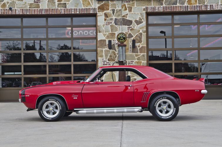 1969 Chevrolet Camaro RS SS LZ1 Motion Muscle Classic USA 4200x2790-02 wallpaper