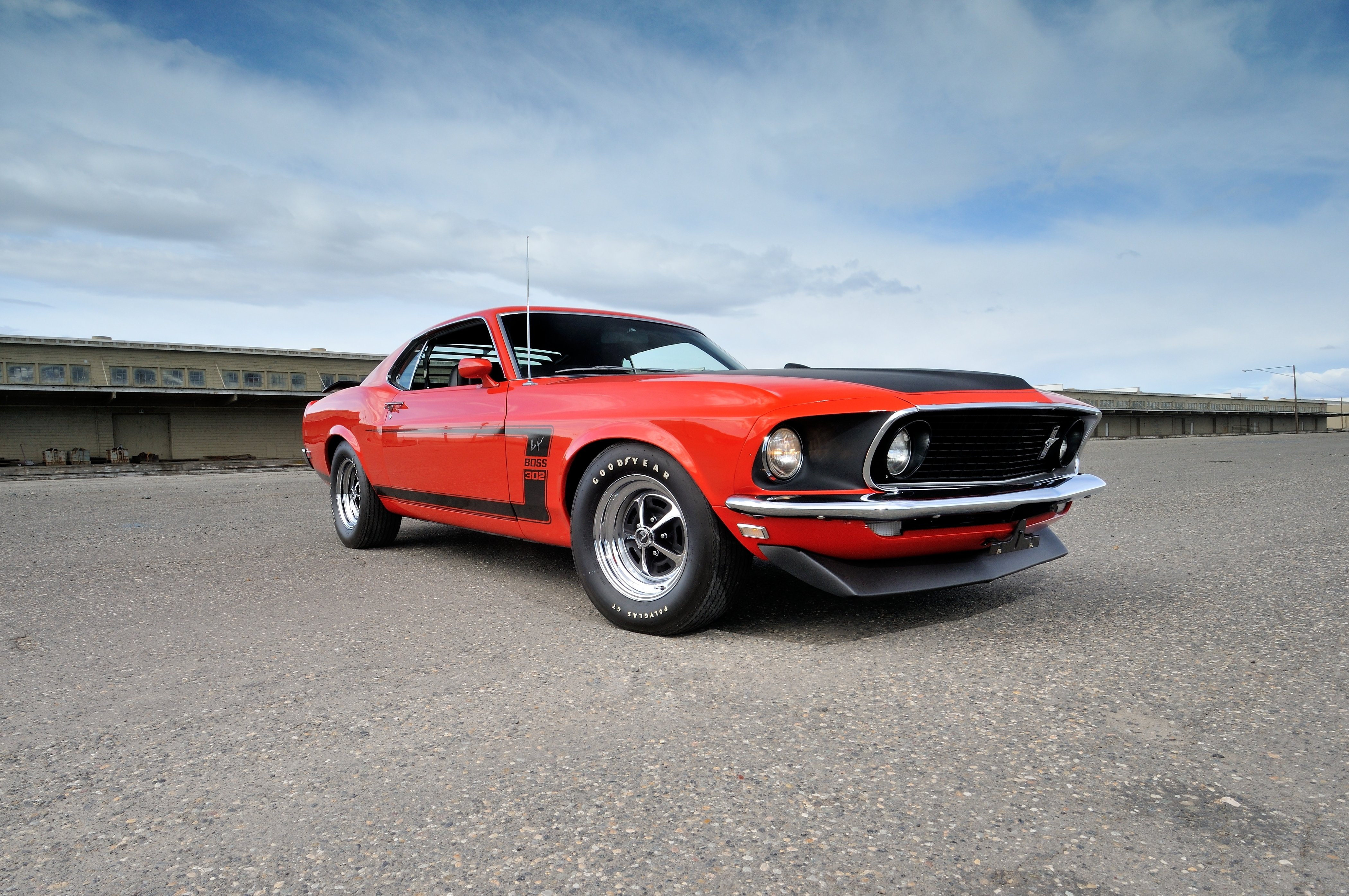 1969 ford mustang boss 302 fastback muscle classic usa
