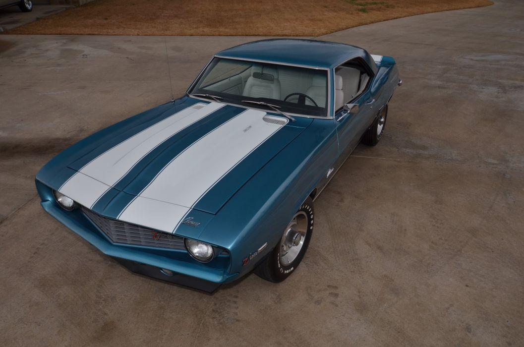 1969 Chevrolet Camaro Z28 427 Muscle Classic USA 4200x2790-02 wallpaper