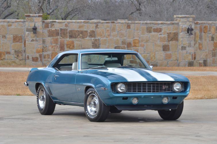 1969 Chevrolet Camaro Z28 427 Muscle Classic USA 4200x2790-01 wallpaper