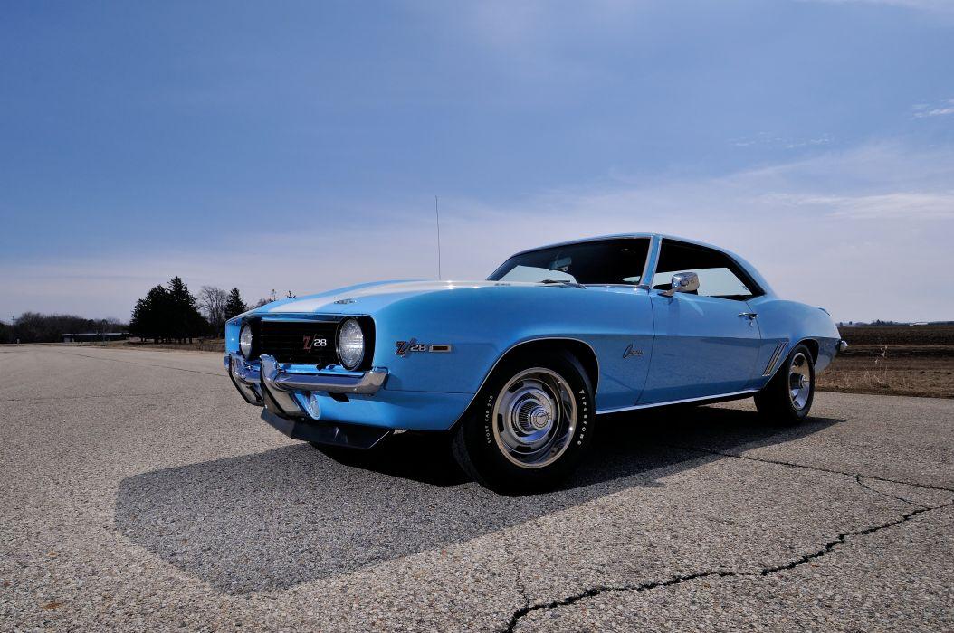 1969 Chevrolet Camaro Z28 427 Muscle Classic USA 4200x2790-08 wallpaper