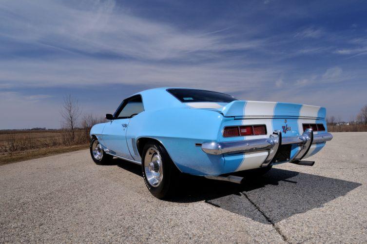 1969 Chevrolet Camaro Z28 427 Muscle Classic USA 4200x2790-09 wallpaper