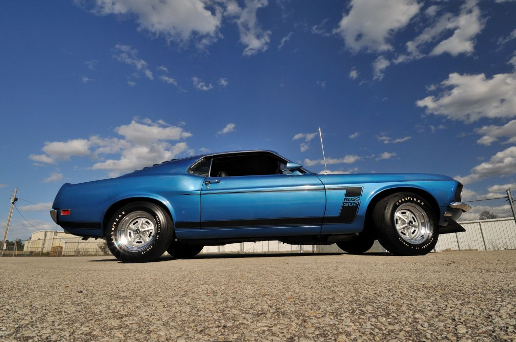 1969 Ford Mustang Boss 302 Fastback Muscle Classic USA 4200x2790-03 wallpaper