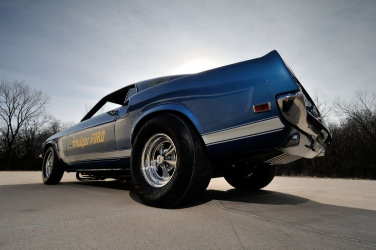 1969 Ford Mustang CJ Dragster Drag Pro Stock Race USA 4200x2790-03 wallpaper