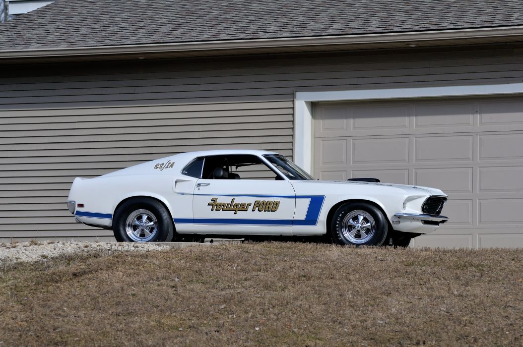 1969 Ford Mustang CJ Dragster Drag Pro Stock Race USA 4200x2790-02 wallpaper