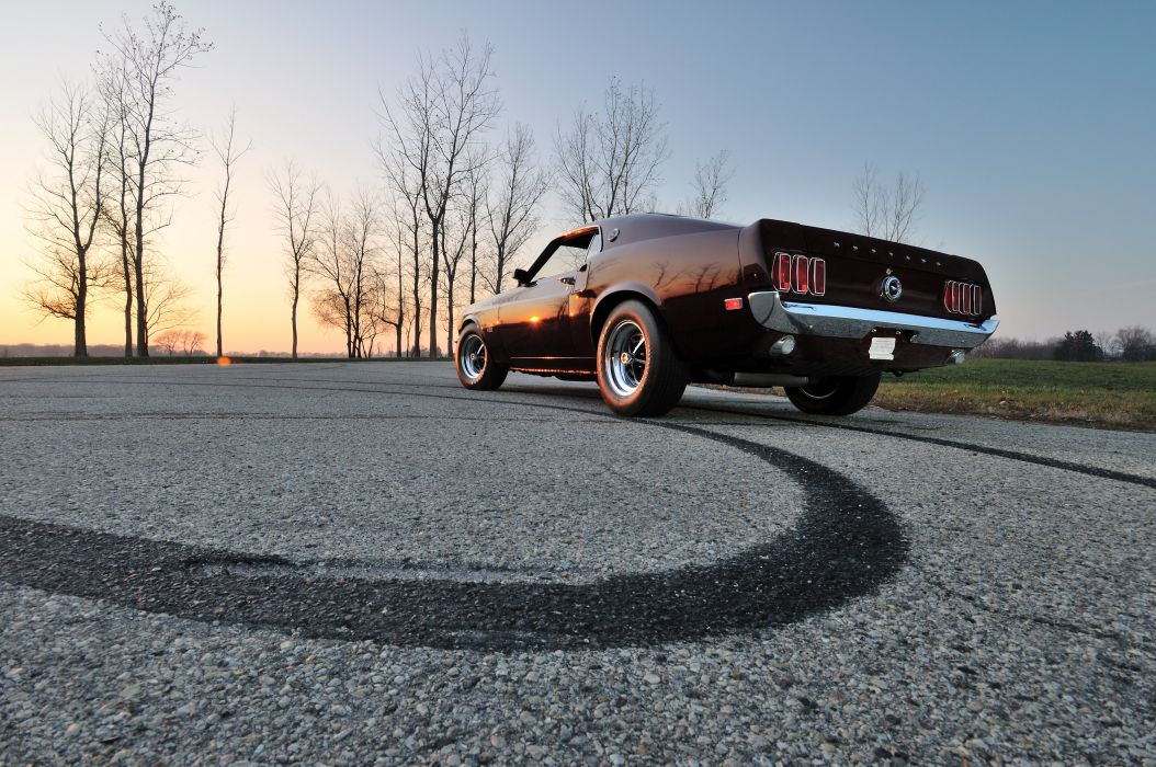 1969 Ford Mustang Boss 429 Fastback Muscle Classic USA 4200x2790-05 wallpaper