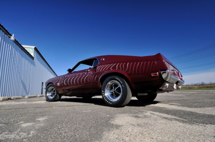 1969 Ford Mustang Boss 429 Fastback Muscle Classic USA 4200x2790-09 wallpaper