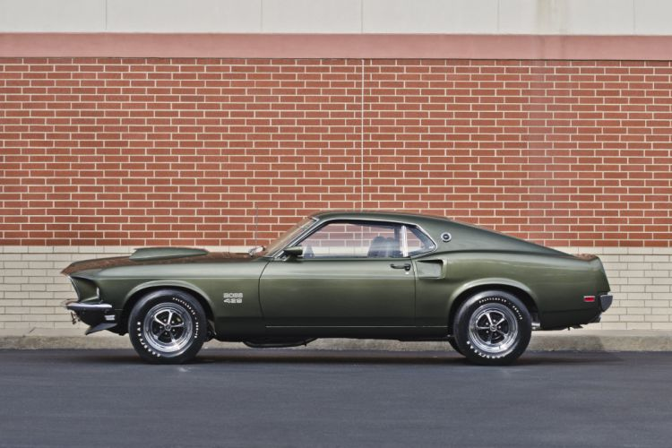 1969 Ford Mustang Boss 429 Fastback Muscle Classic USA 4200x2790-15 wallpaper