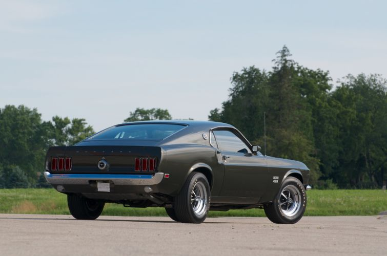 1969 Ford Mustang Boss 429 Fastback Muscle Classic USA 4200x2790-19 wallpaper