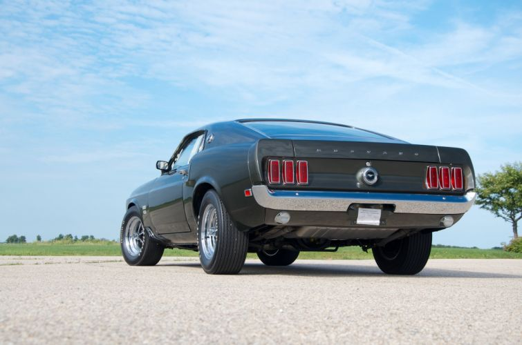 1969 Ford Mustang Boss 429 Fastback Muscle Classic USA 4200x2790-23 wallpaper