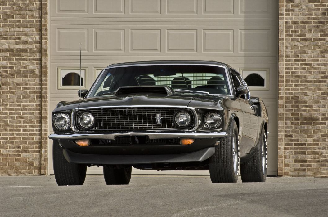 1969 Ford Mustang Boss 429 Fastback Muscle Classic USA 4200x2790-25 wallpaper