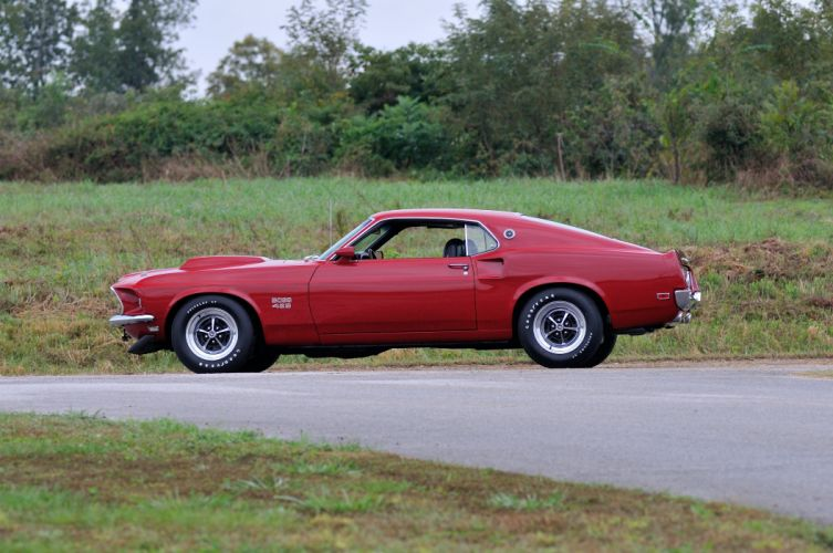 1969 Ford Mustang Boss 429 Fastback Muscle Classic USA 4200x2790-35 wallpaper