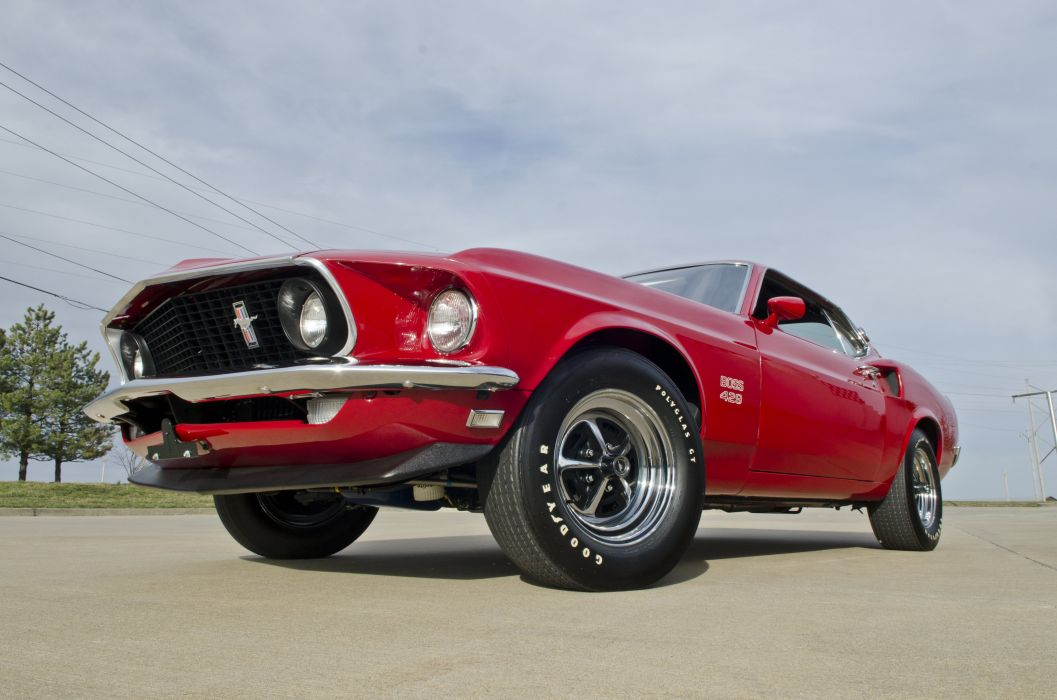 1969 Ford Mustang Boss 429 Fastback Muscle Classic USA 4200x2790-48 wallpaper