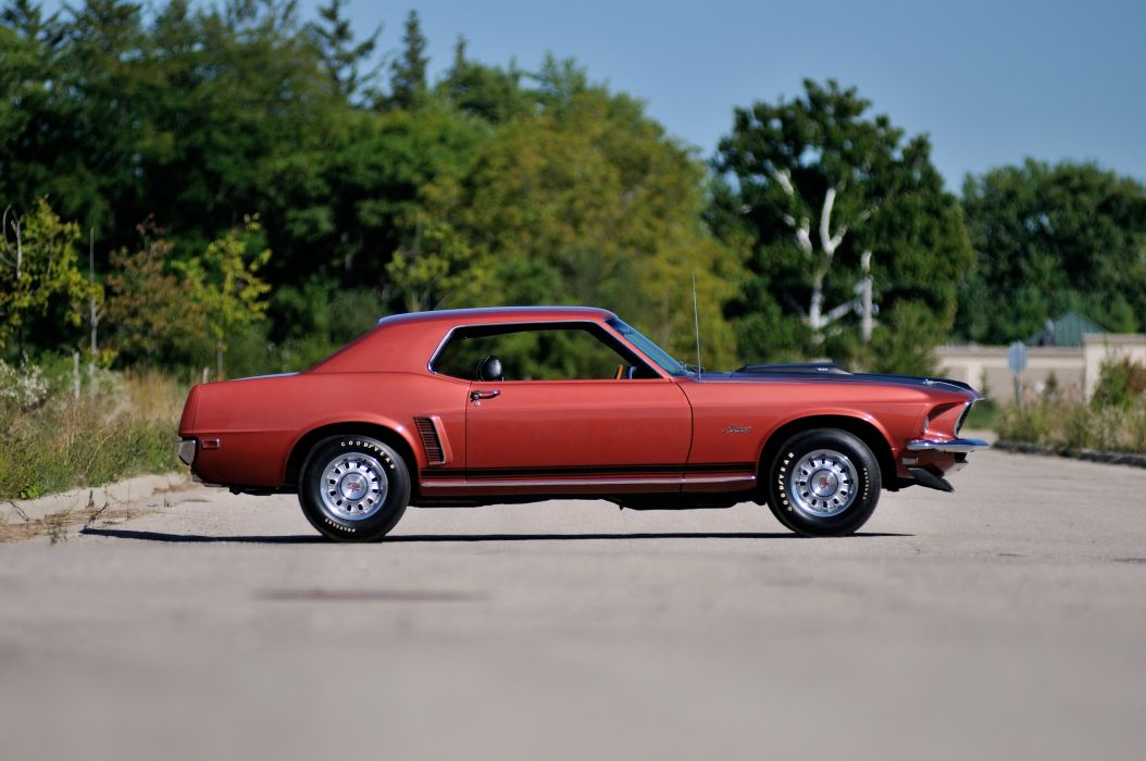 1969 Ford Mustang GT Coupe Muscle Classic USA 4200v2790-02 wallpaper