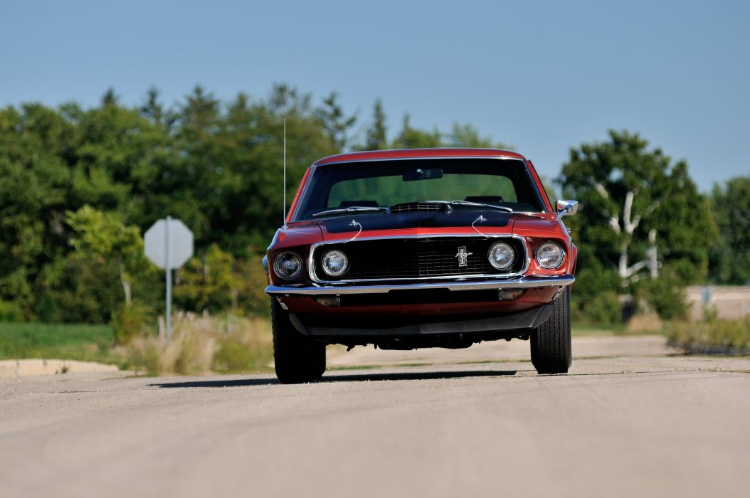 1969 Ford Mustang GT Coupe Muscle Classic USA 4200v2790-04 wallpaper