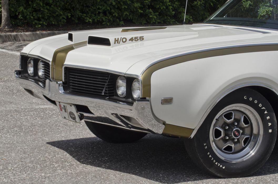 1969 Oldsmobile Hurst 442 Muscle Classic USA 4200x2800-03 wallpaper