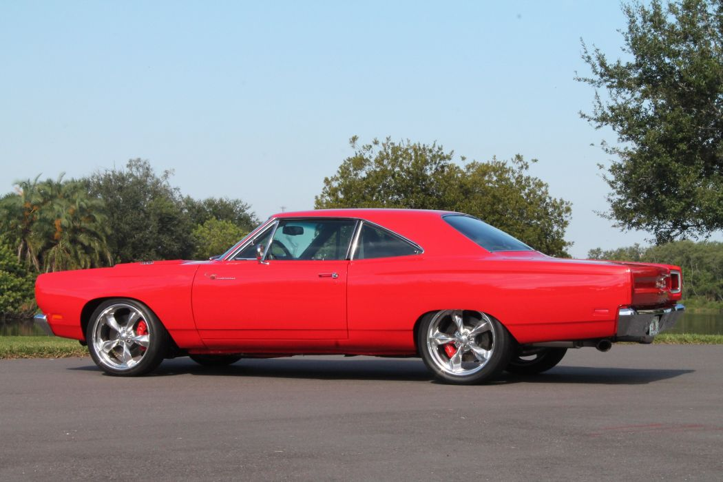 1969 Plymouth Road Runner Muscle Classic USA 4200x2790-06 wallpaper