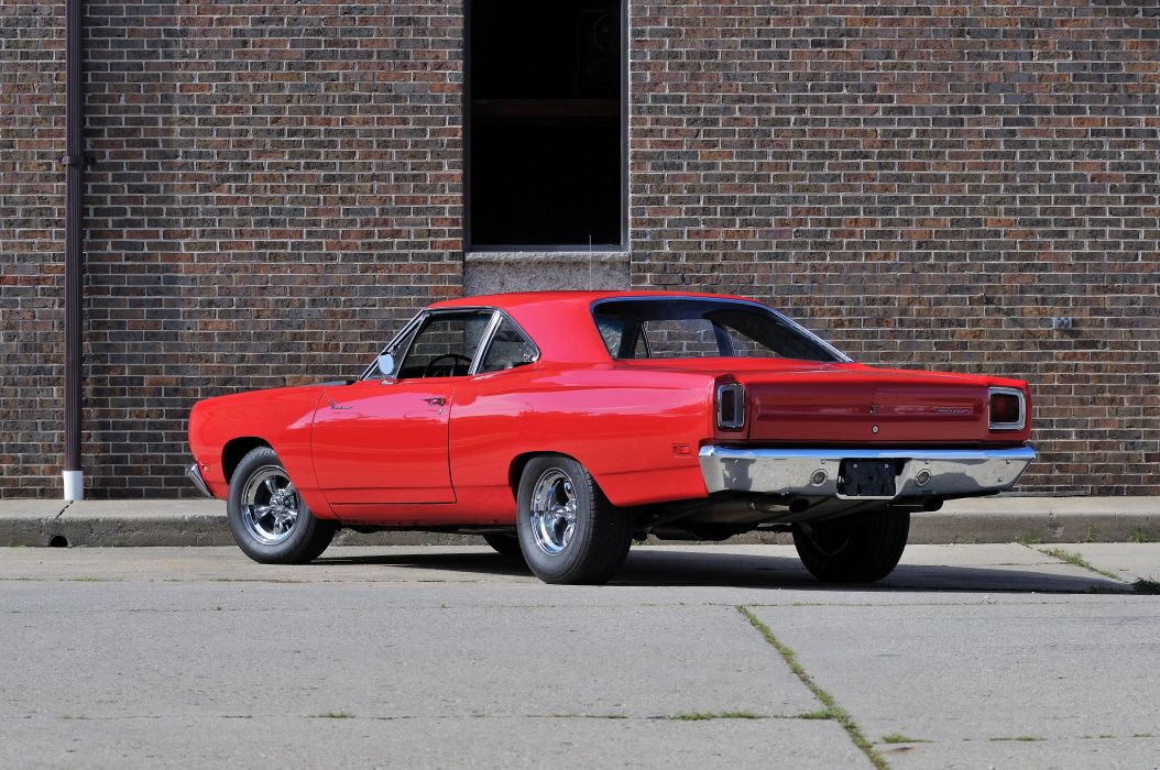1969 Plymouth Road Runner Muscle Classic USA 4200x2790-04 wallpaper