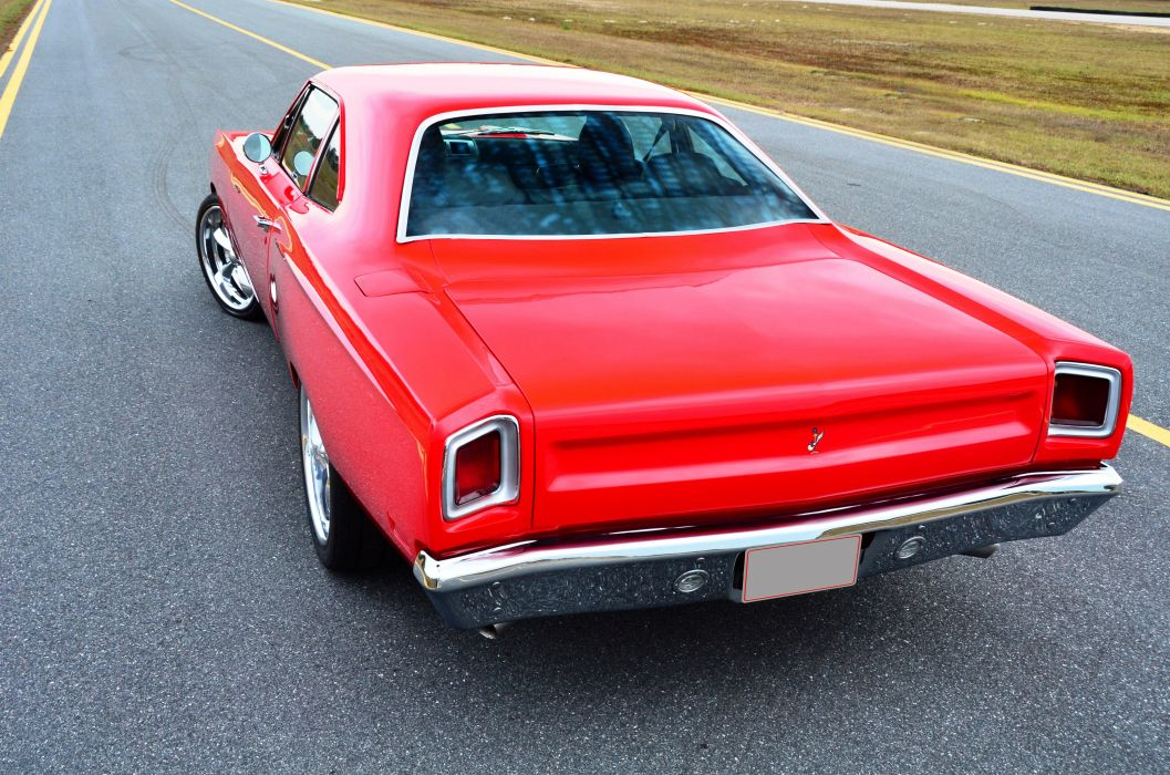 1969 Plymouth Road Runner Muscle Classic USA 4200x2790-07 wallpaper