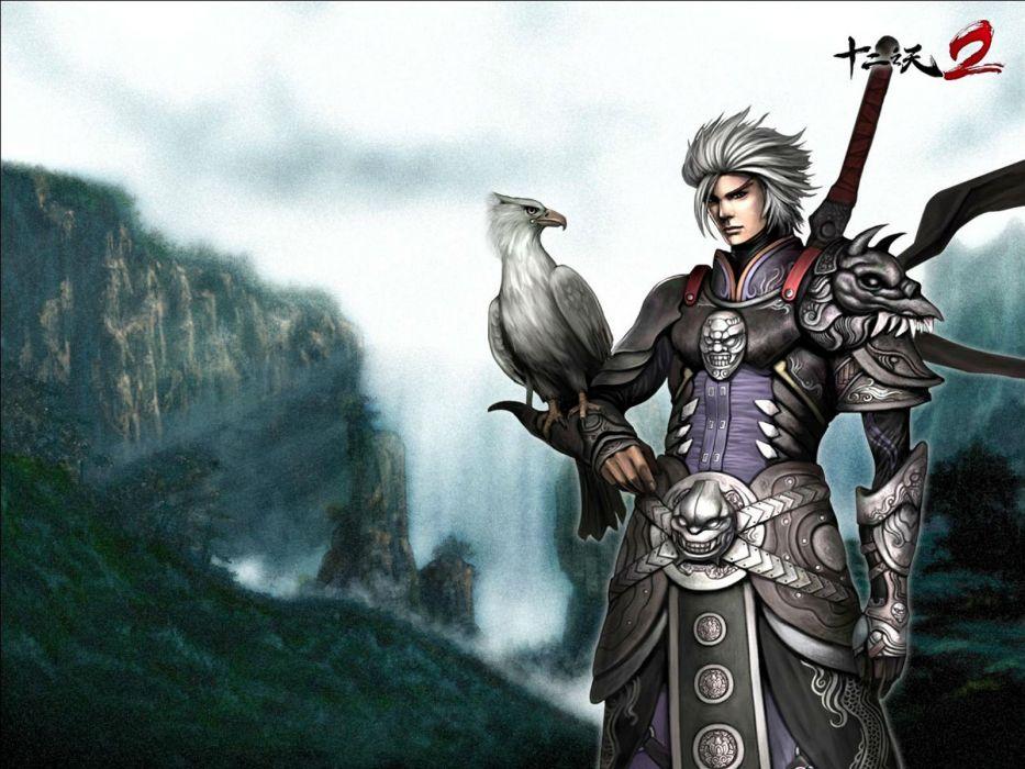 TWELVE SKY asina fantasy mmo rpg online 12sky action fighting kung martial samurai warrior poster wallpaper