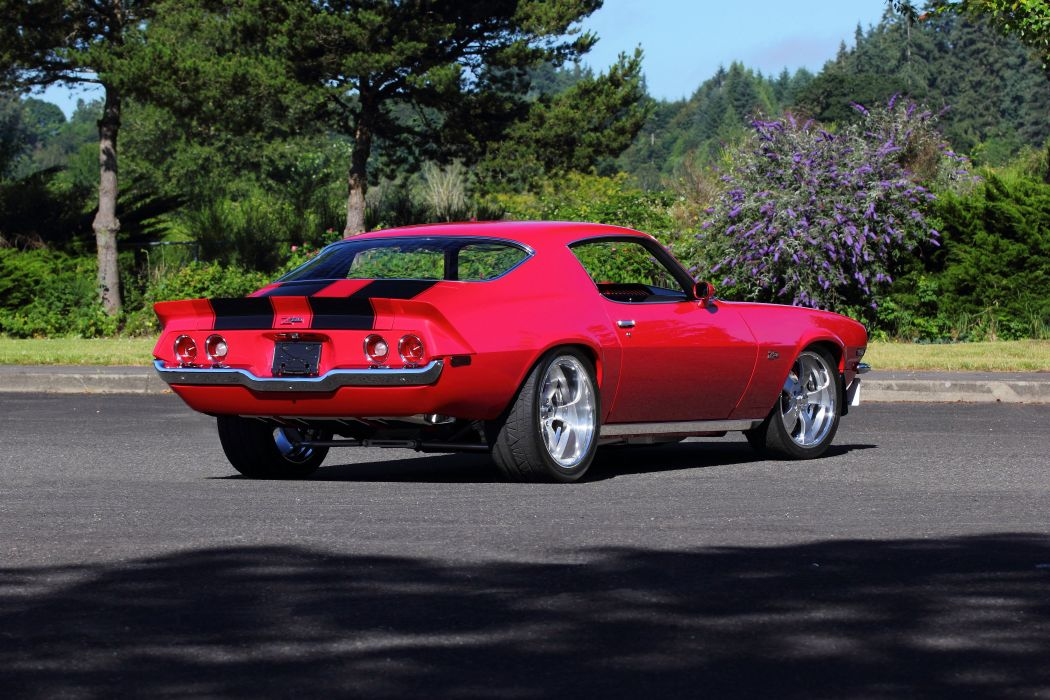 1970 Chevrolet Camaro Z28 Muscle Strretrod Street Rod Hot Machine USA 4200x2800-04 wallpaper