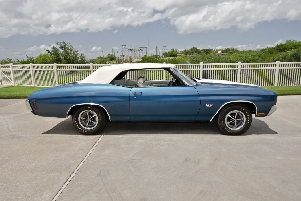 1970 Chevrolet Chevelle LS6 Convertible Muscle Classic USA 4200x2800-01 wallpaper