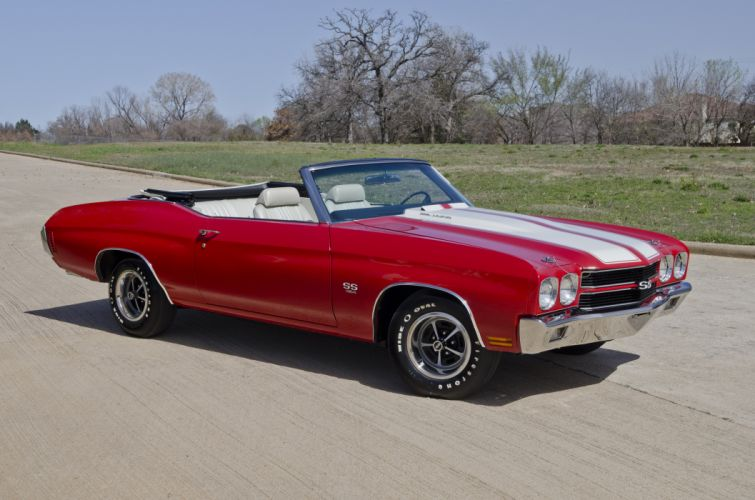 1970 Chevrolet Chevelle LS6 Convertible Muscle Classic USA 4200x2800-05 wallpaper