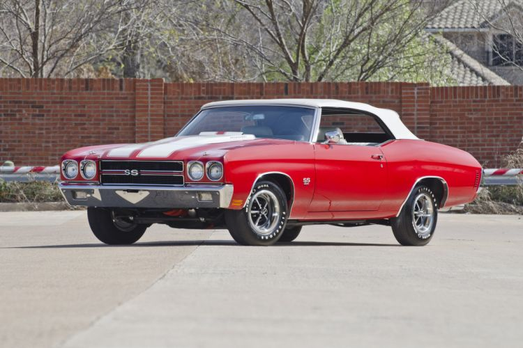 1970 Chevrolet Chevelle LS6 Convertible Muscle Classic USA 4200x2800-06 wallpaper