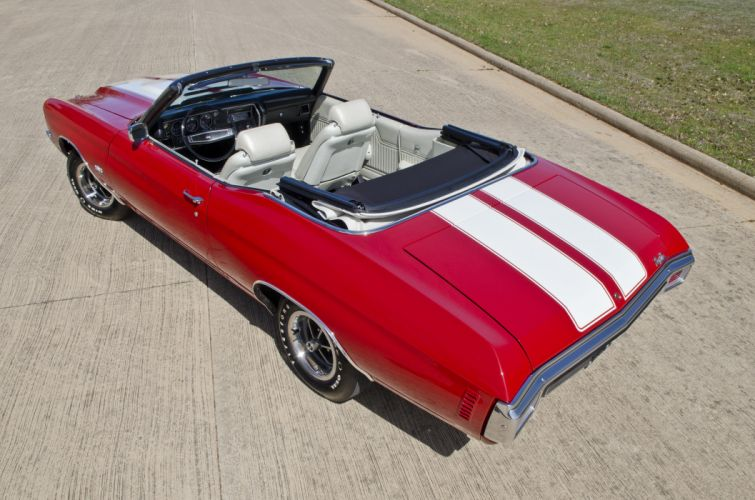 1970 Chevrolet Chevelle LS6 Convertible Muscle Classic USA 4200x2800-10 wallpaper