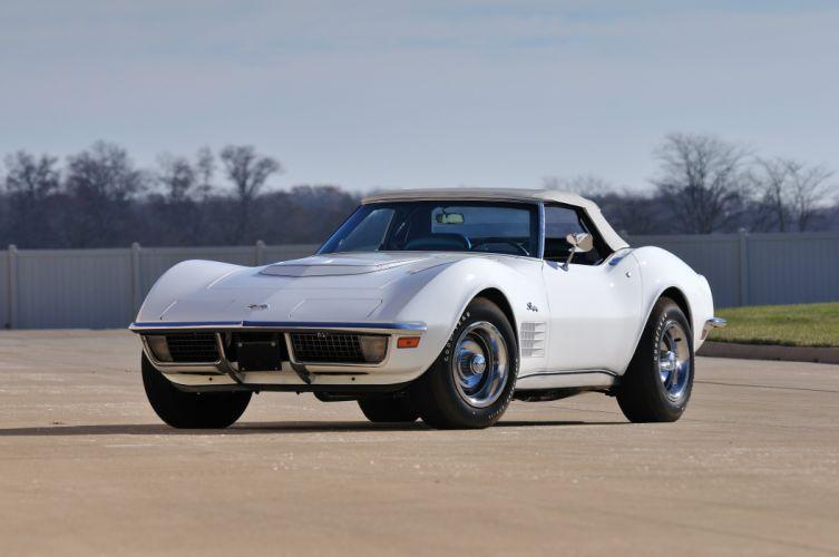 1970 Chevrolet Corvette LT1 Stingray Convertible Muscle Classic USA 4200x2790-02 wallpaper