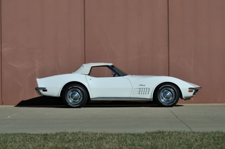 1970 Chevrolet Corvette LT1 Stingray Convertible Muscle Classic USA 4200x2790-01 wallpaper