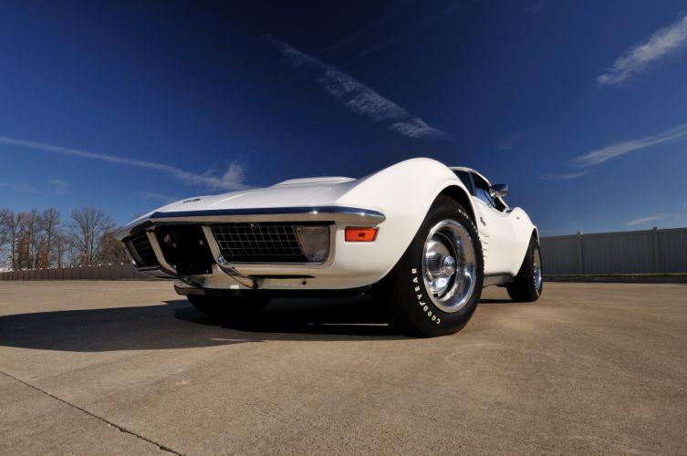 1970 Chevrolet Corvette LT1 Stingray Convertible Muscle Classic USA 4200x2790-04 wallpaper