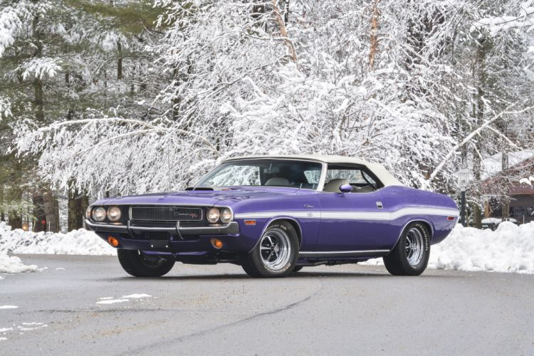1970 Dodge Challenger RT Convertible Muscle Classic USA 4200x2800-01 wallpaper