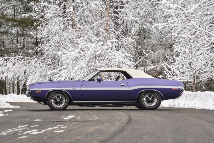 1970 Dodge Challenger RT Convertible Muscle Classic USA 4200x2800-03 wallpaper