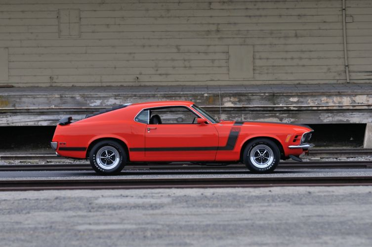 1970 Ford Mustang Boss 302 Fastback Muscle Classic USA 4200x2790-12 wallpaper