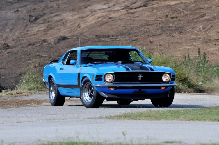 1970 Ford Mustang Boss 302 Fastback Muscle Classic USA 4200x2790-10 wallpaper