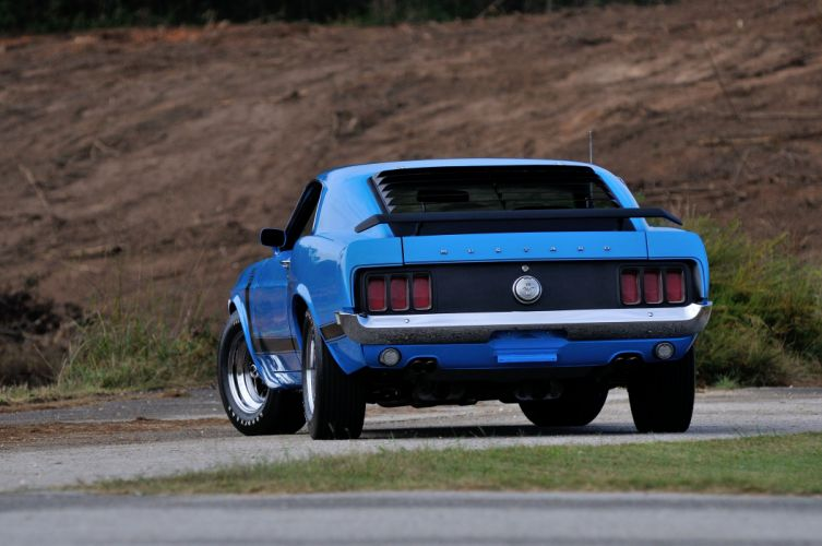 1970 Ford Mustang Boss 302 Fastback Muscle Classic USA 4200x2790-08 wallpaper