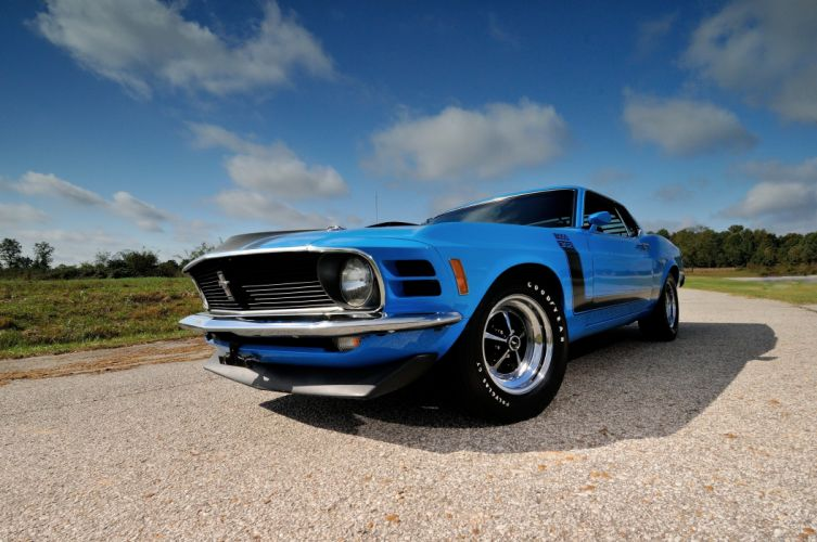 1970 Ford Mustang Boss 302 Fastback Muscle Classic USA 4200x2790-09 wallpaper
