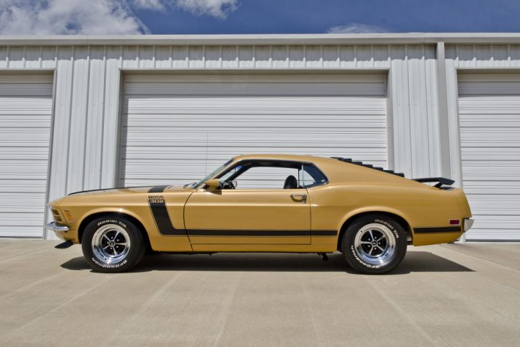 1970 Ford Mustang Boss 302 Fastback Muscle Classic USA 4200x2790-03 wallpaper