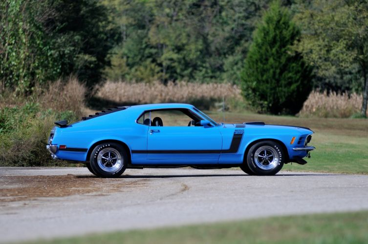 1970 Ford Mustang Boss 302 Fastback Muscle Classic USA 4200x2790-06 wallpaper
