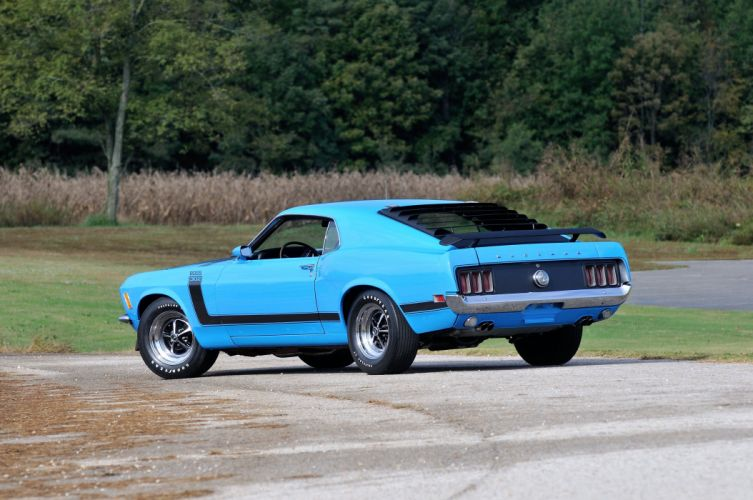 1970 Ford Mustang Boss 302 Fastback Muscle Classic USA 4200x2790-07 wallpaper