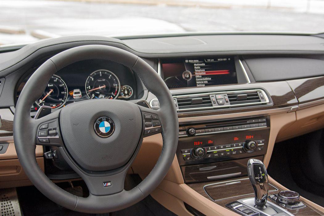 2015 BMW 740Ld xDrive cars interior wallpaper