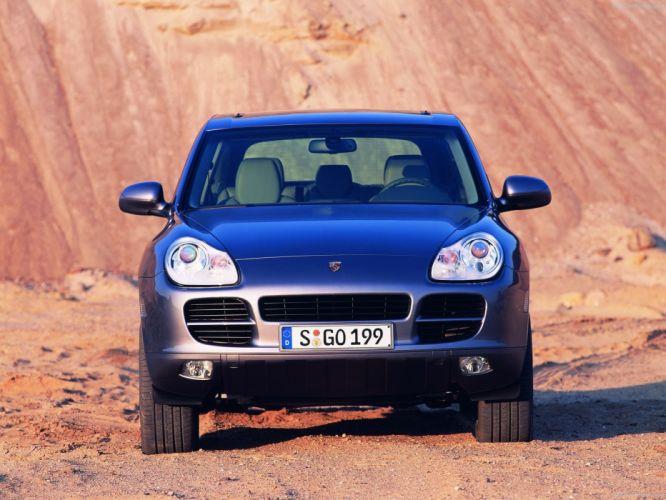 Porsche Cayenne suv cars 2004 wallpaper