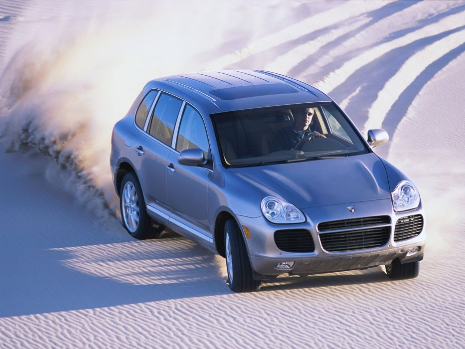 Porsche Cayenne S suv cars 2004 wallpaper