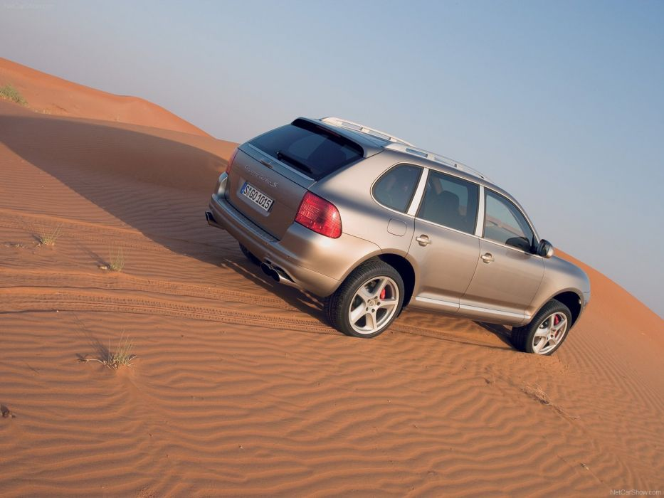 Porsche Cayenne S turbo suv cars 2006 wallpaper